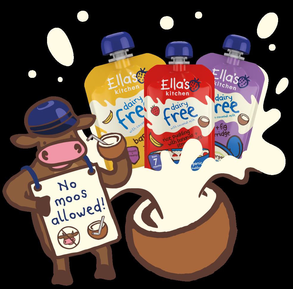 Hero image for Dairy free range