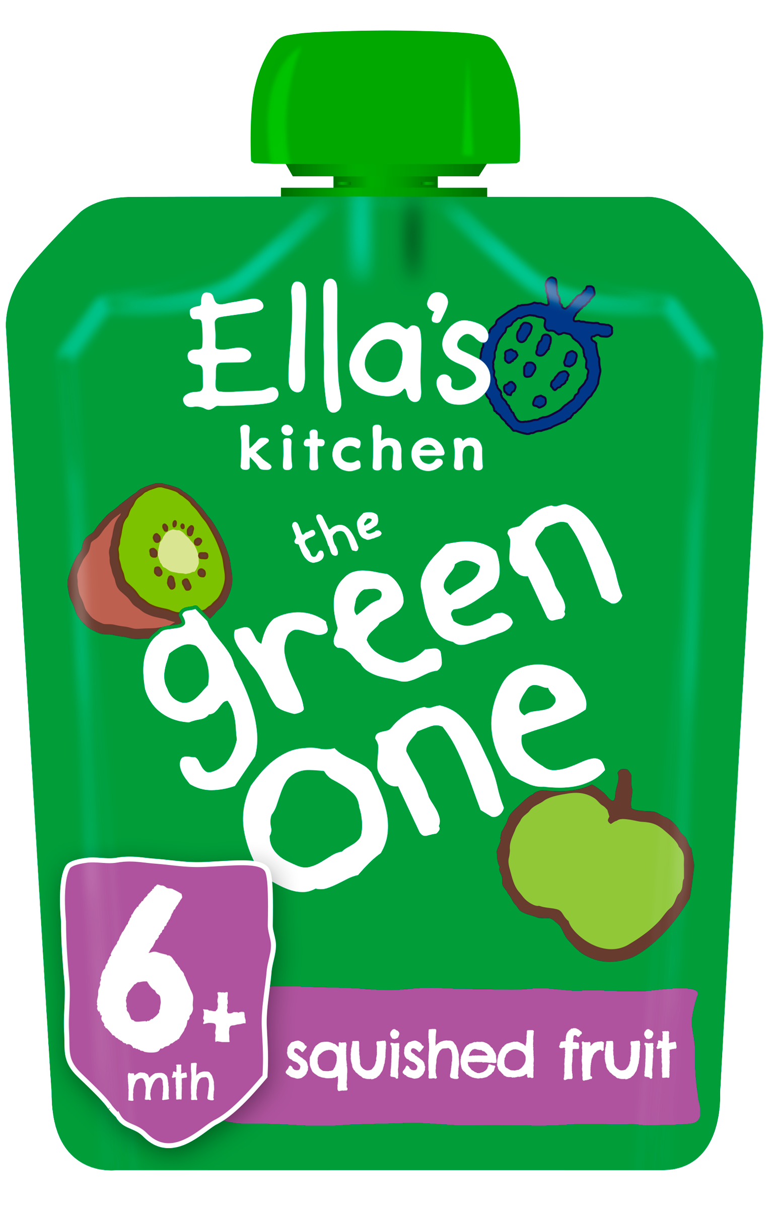 Ellas kitchen The Green one product front of pack pouch O