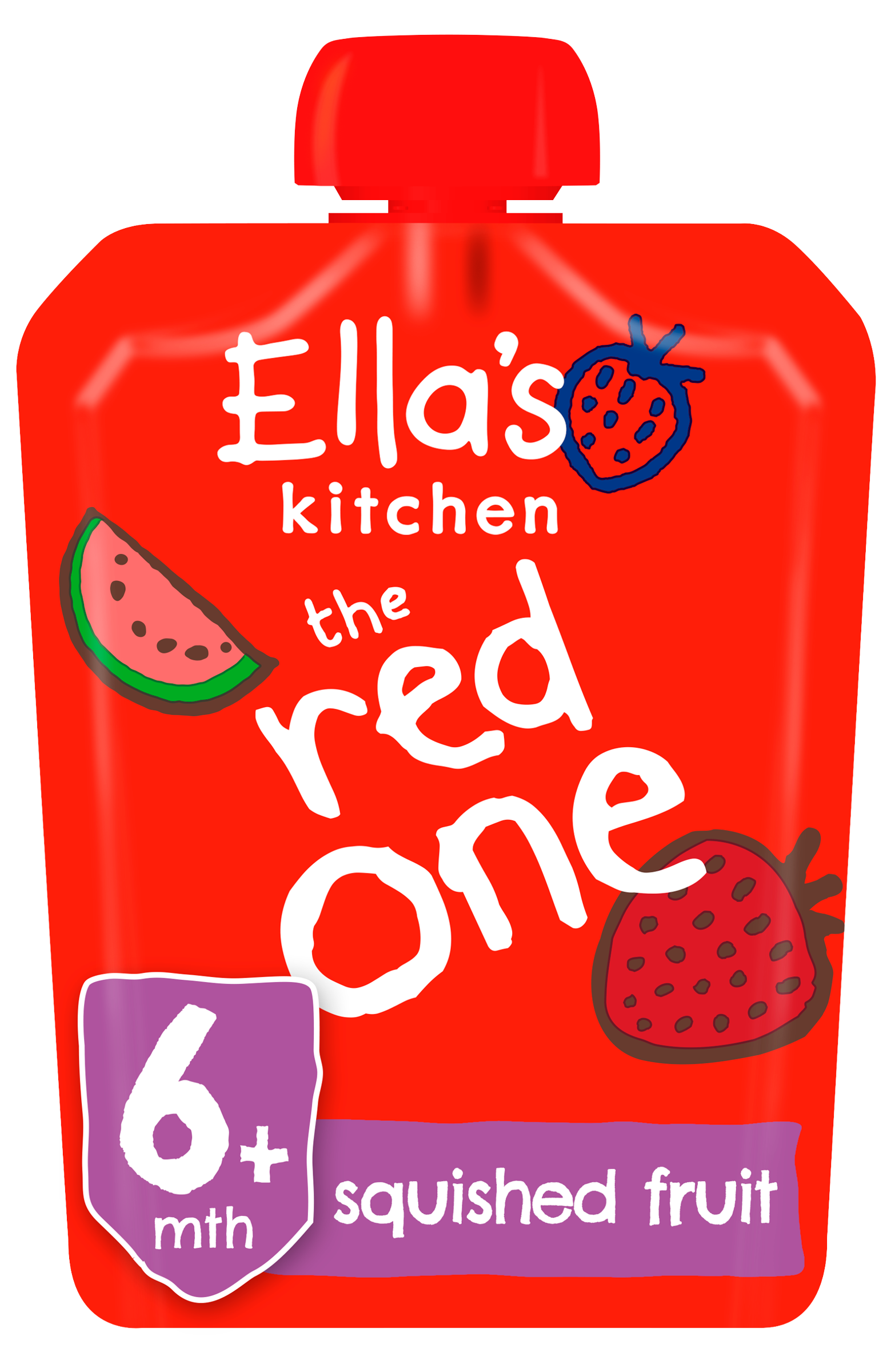 Ellas kitchen The Red one product front of pack pouch O