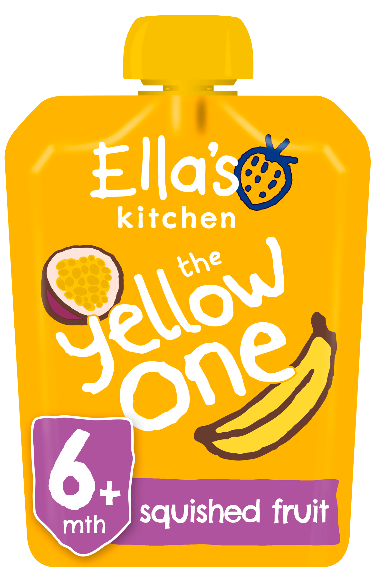 Ellas kitchen The Yellow one product front of pack pouch O