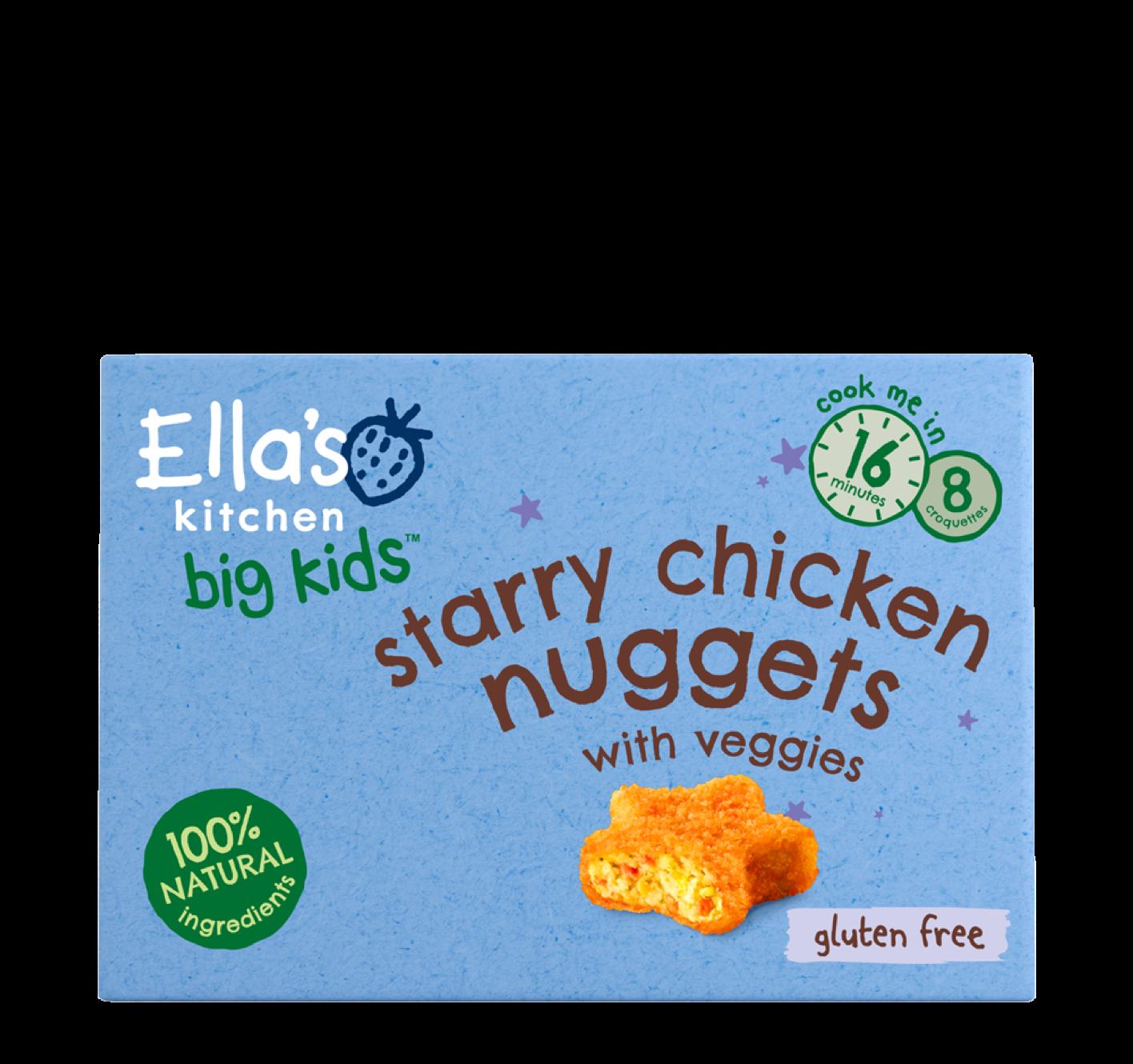 Ellas kitchen starry chicken nuggets frozen front of pack 3