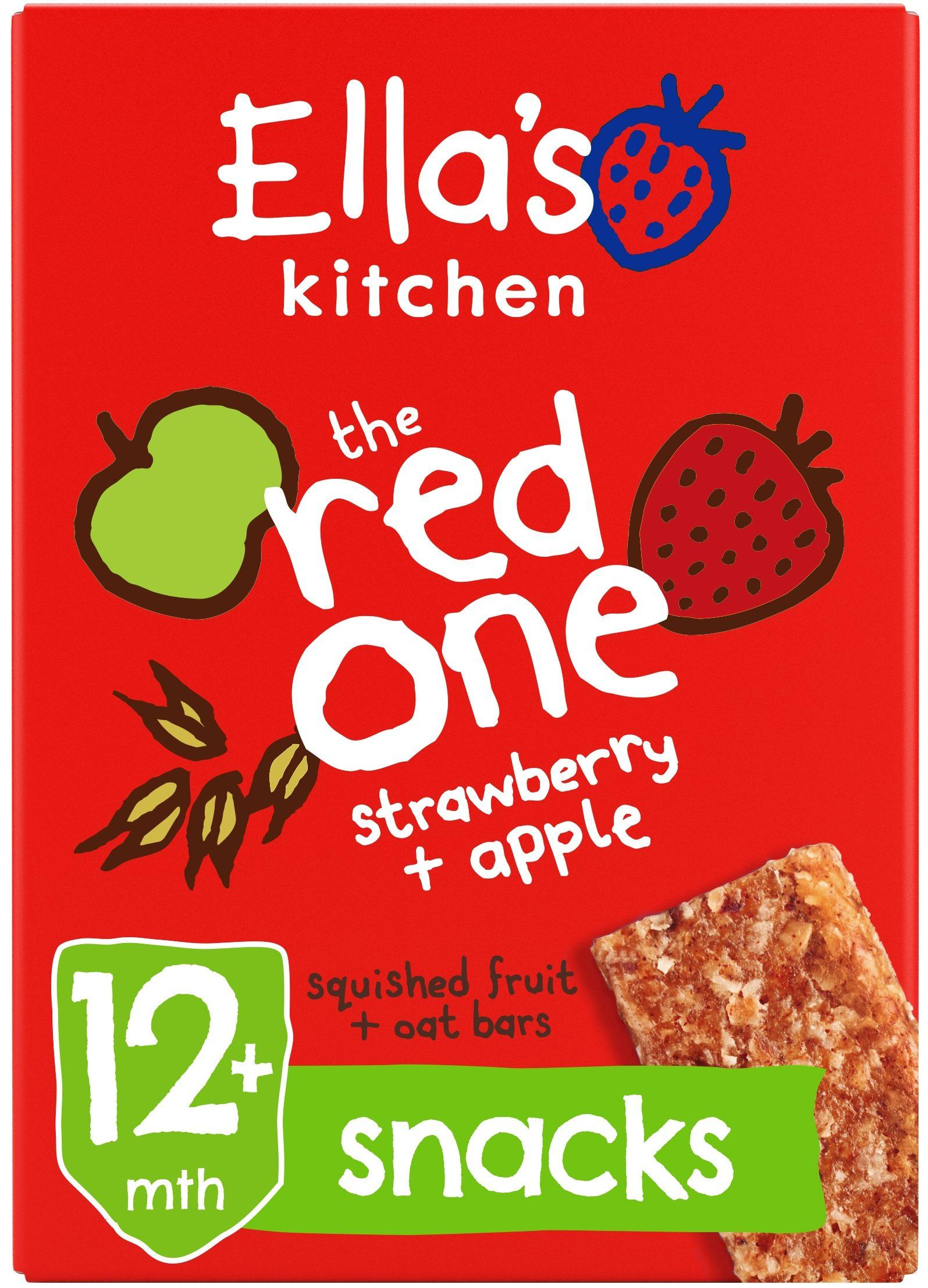 Ellas Kitchen the red one bar box front of pack