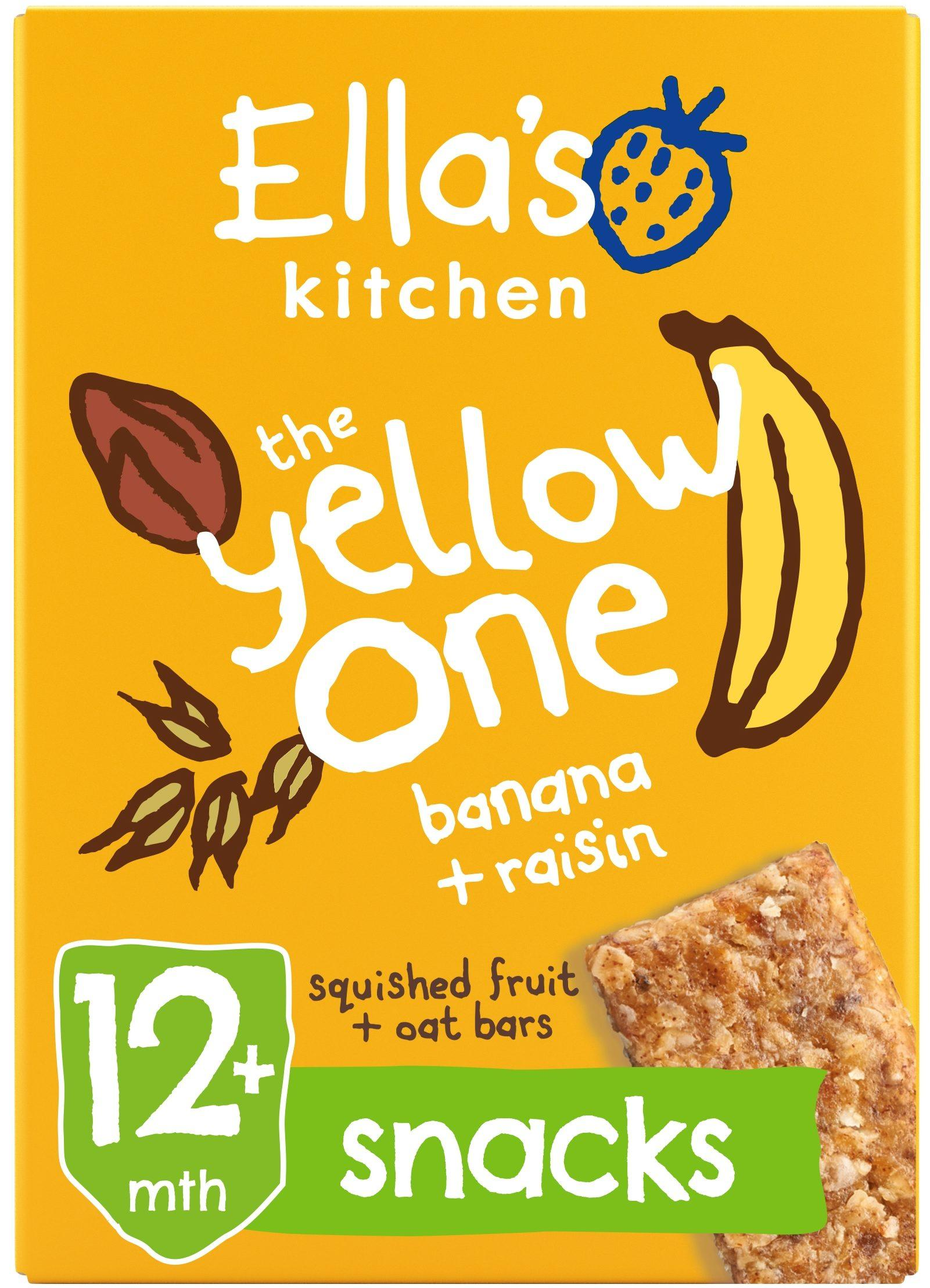 Ellas Kitchen the yellow one bar box front of pack