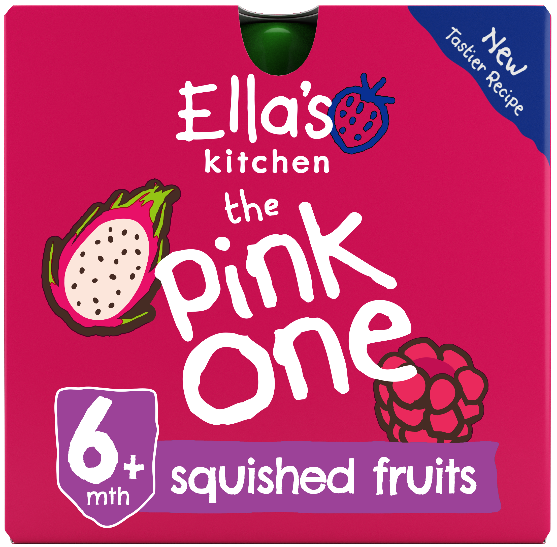 Ellas kitchen The pink one front of pack O