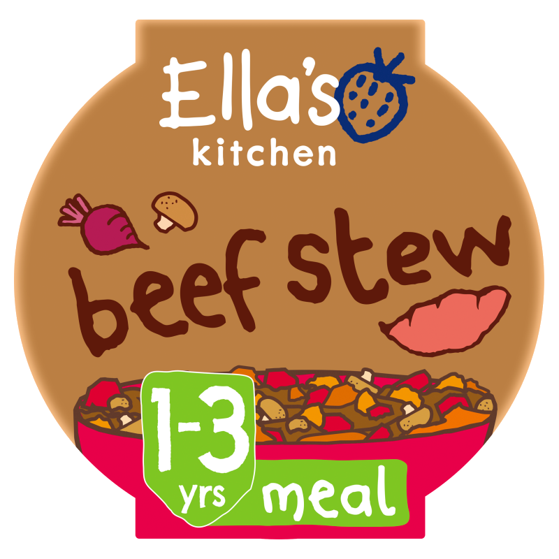 Ellas kitchen beef stew pot 1 3 years front of pack O