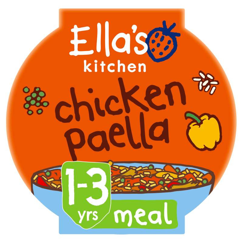 Ellas kitchen chicken paella pot 1 3 years front of pack O
