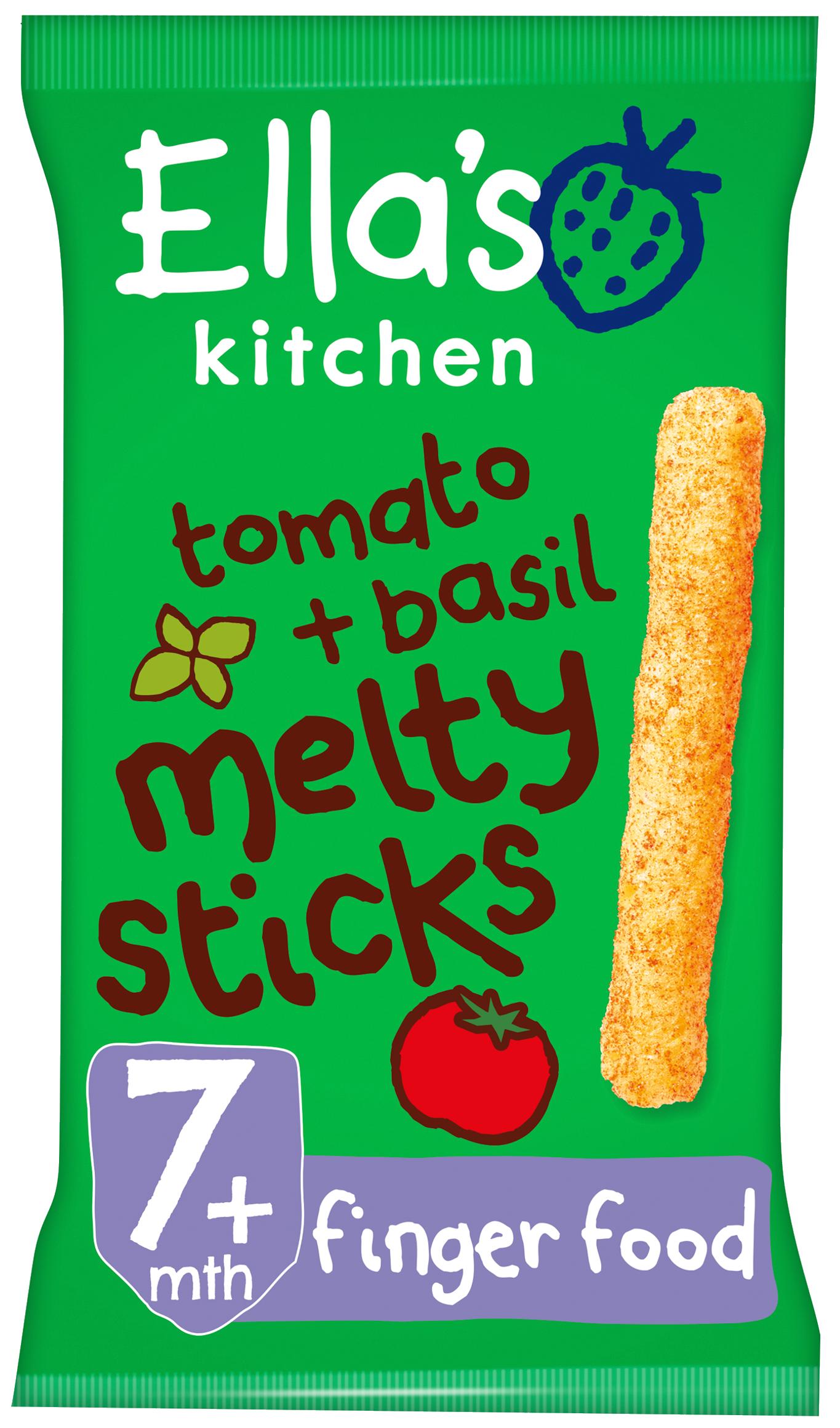 Ellas kitchen melty sticks tomato basil bag front of pack O