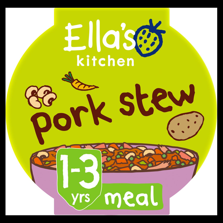Ellas kitchen pork stew pot 1 3 years front of pack O