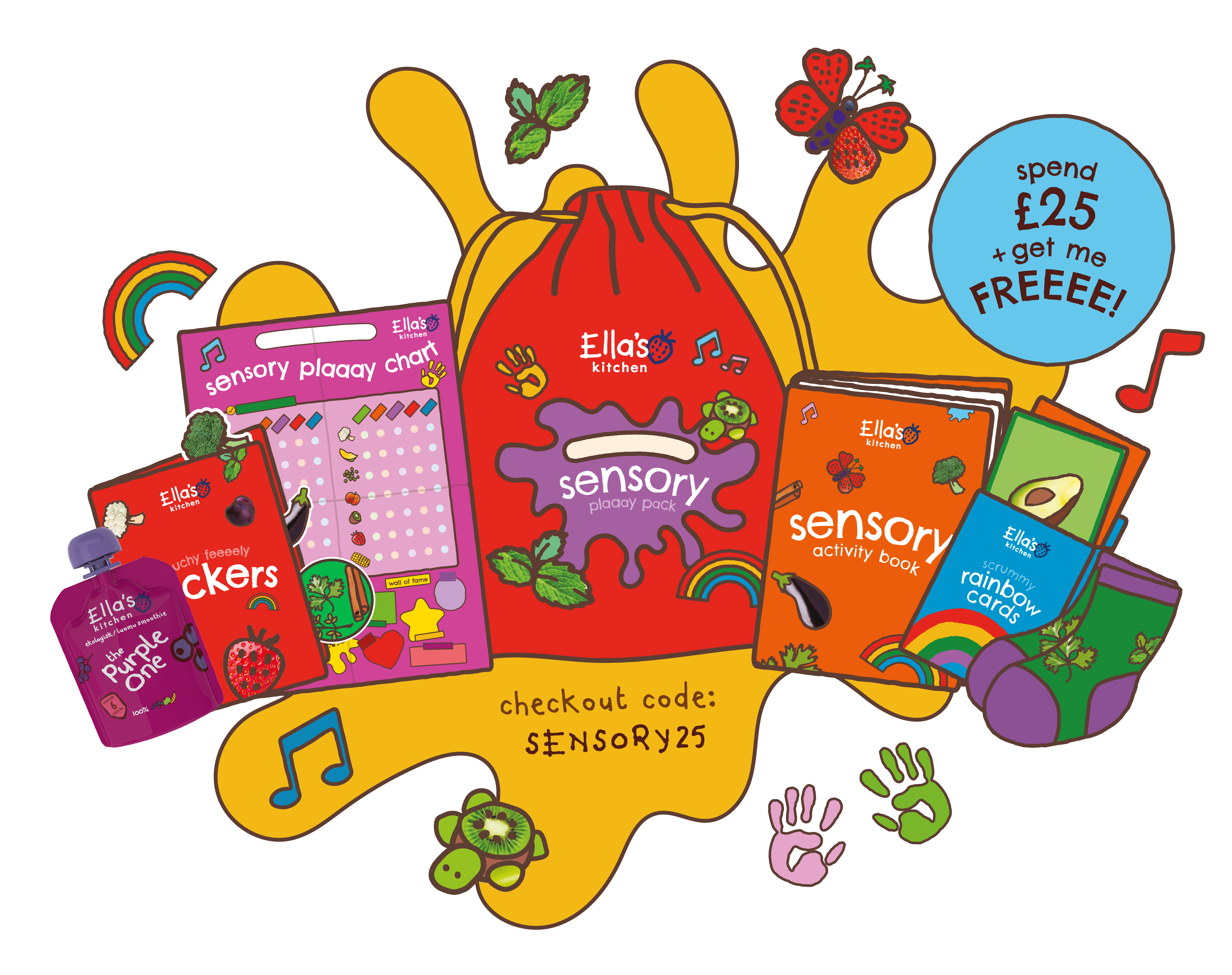 Sensory play pack campaign